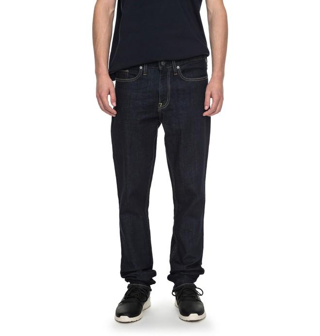 0 Worker Indigo Rinse Slim - Jean slim  EDYDP03320 DC Shoes