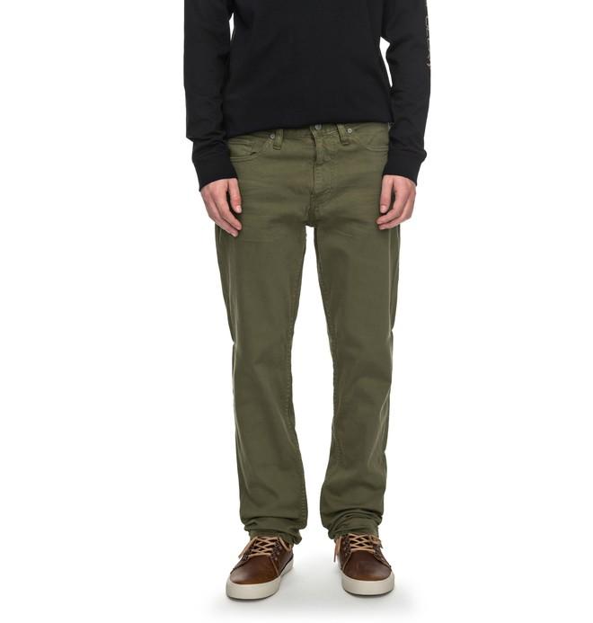 0 Sumner Slim - Slim Fit Jeans Grün EDYDP03329 DC Shoes