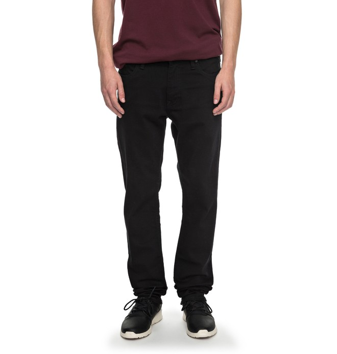 0 Worker Black Rinse Slim - Slim Fit Jeans Schwarz EDYDP03331 DC Shoes