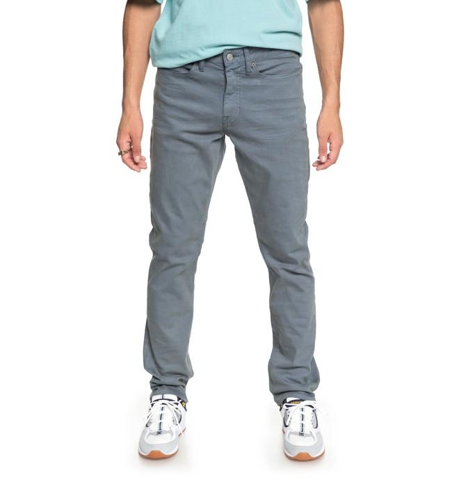 0 Men's Sumner Straight Fit Jeans Blue EDYDP03368 DC Shoes