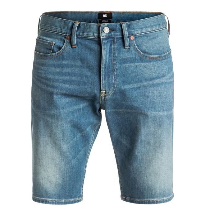 0 Washed Straight - Short en denim  EDYDS03016 DC Shoes