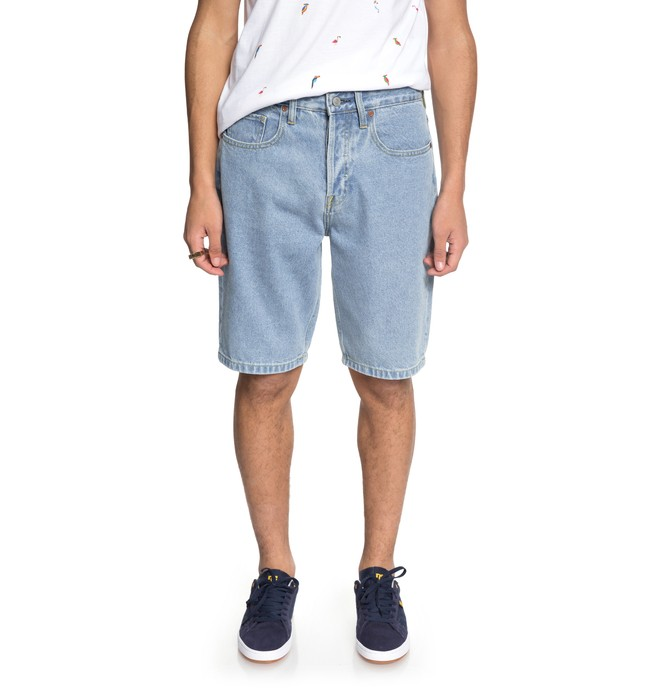 0 Men's Worker Denim Shorts Blue EDYDS03034 DC Shoes