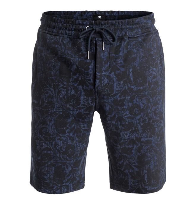 0 Frayser - Sweat Shorts Blue EDYFB03035 DC Shoes