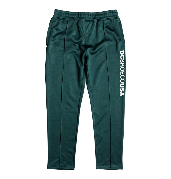 0 Men's Heggerty Tracksuit Bottoms Green EDYFB03046 DC Shoes