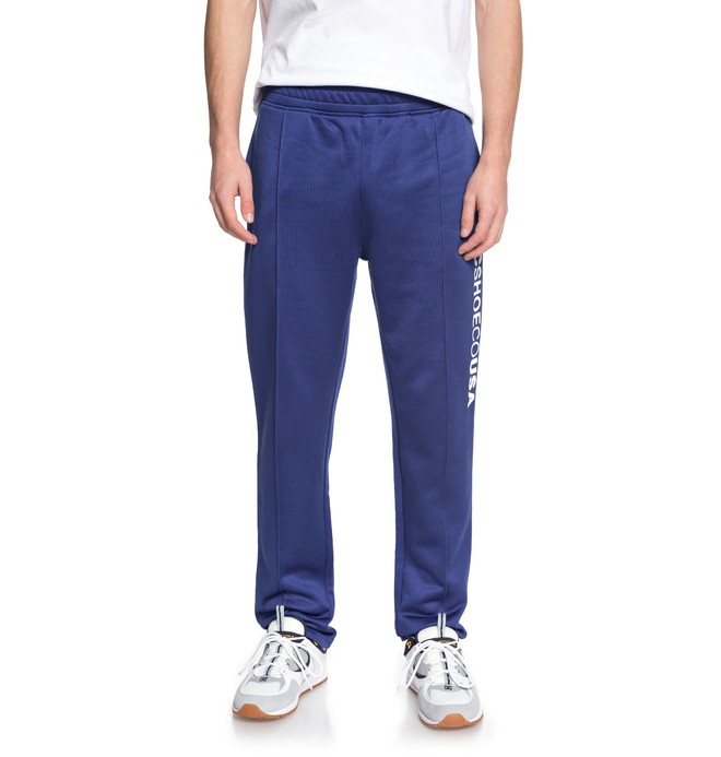 0 Men's Heggerty Tracksuit Bottoms Blue EDYFB03046 DC Shoes