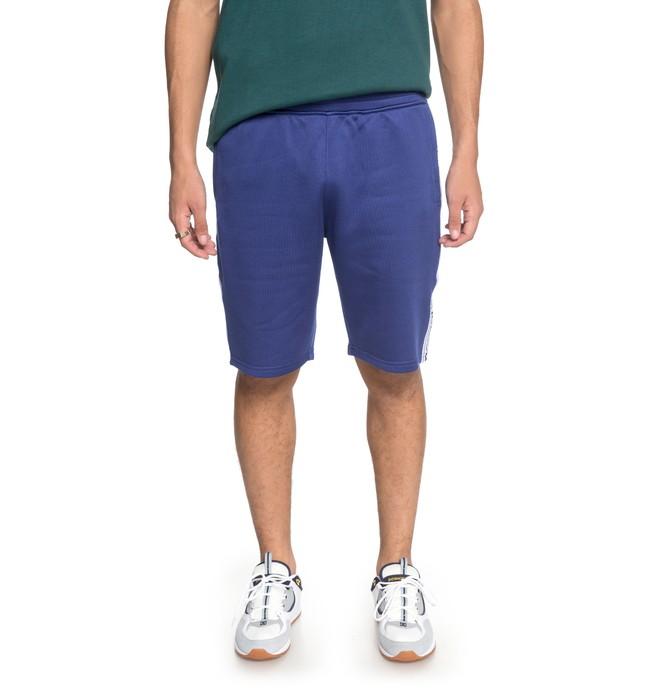 0 Men's Heggerty Tracksuit Shorts Blue EDYFB03047 DC Shoes
