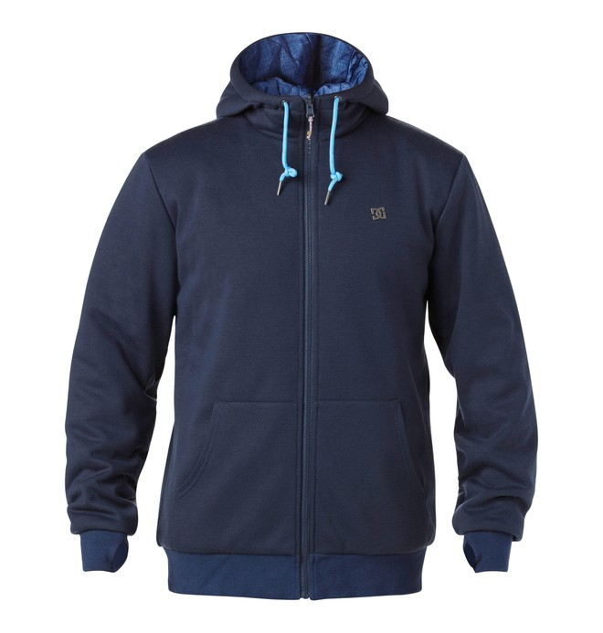 0 Men's Obvious Softshell Hoodie  EDYFT00046 DC Shoes