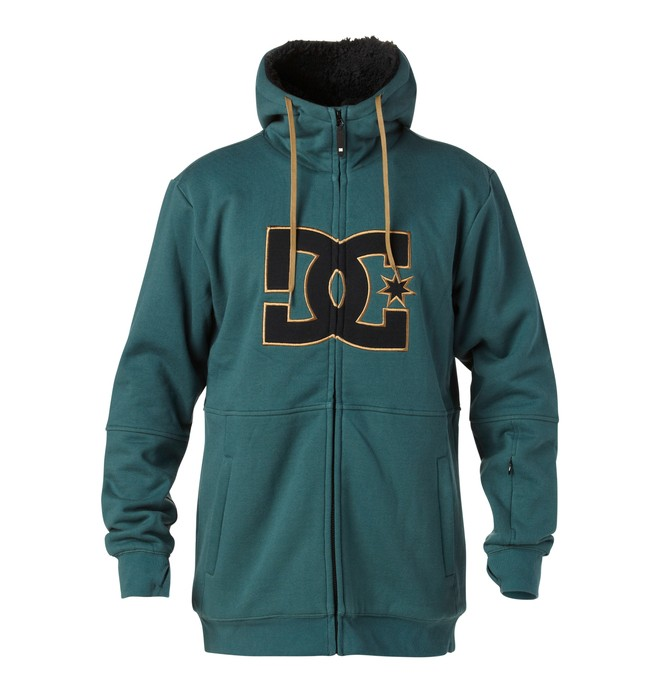 0 Men's Marquee Softshell Hoodie  EDYFT00048 DC Shoes