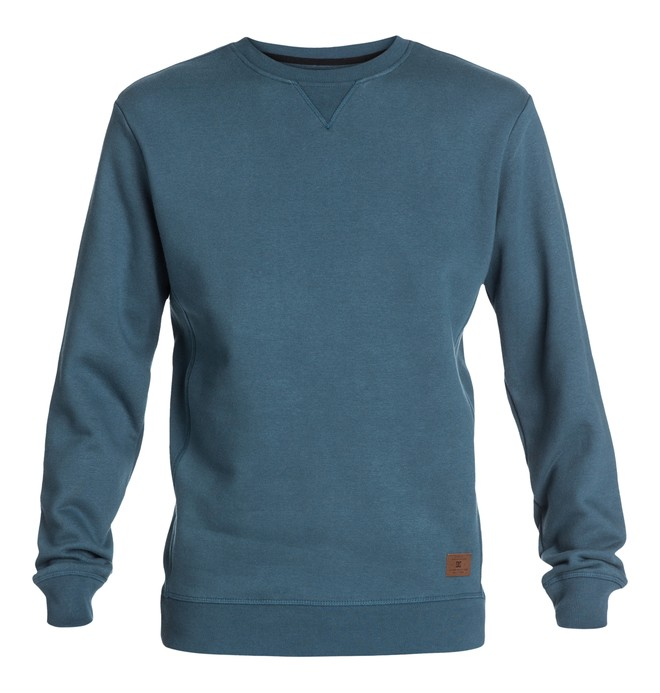0 Men's Arnel Sweatshirt Blue EDYFT03000 DC Shoes