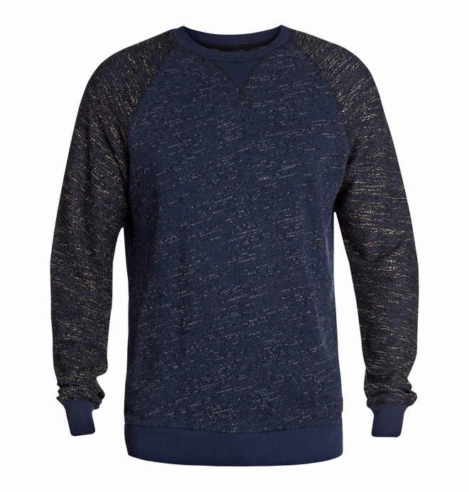0 Men's Breaker Sweatshirt Blue EDYFT03001 DC Shoes