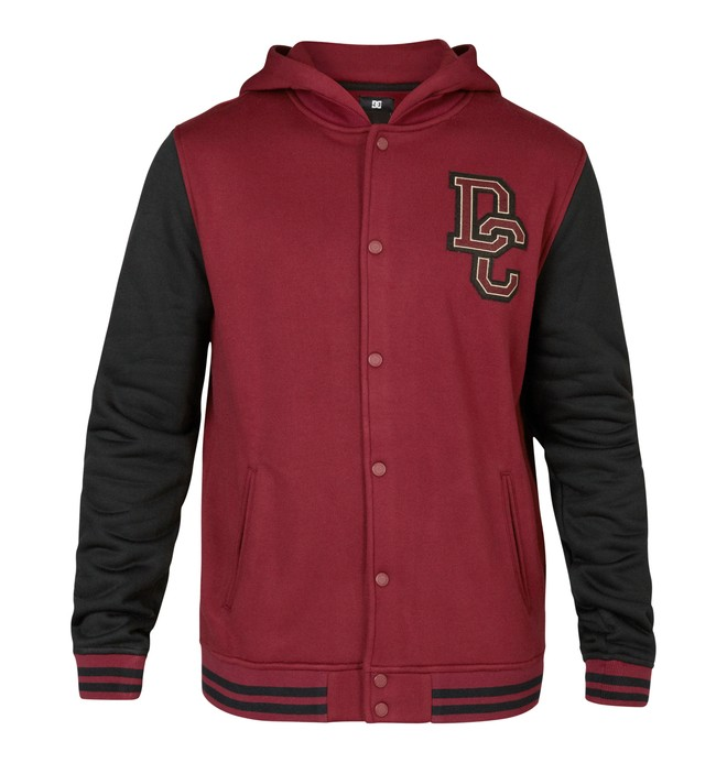 0 Division Jacket Red EDYFT03002 DC Shoes