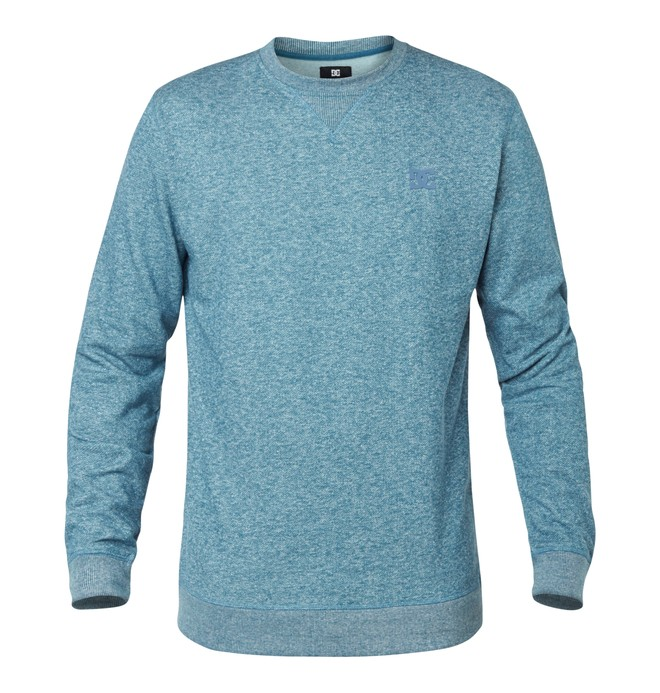 0 Rebel Crew Sweatshirt Blue EDYFT03007 DC Shoes