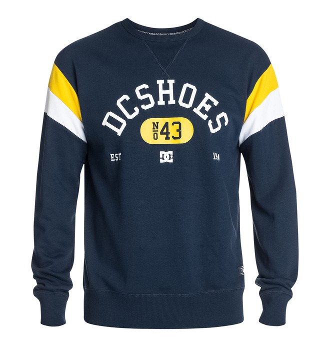 0 Men's Campton Sweatshirt  EDYFT03085 DC Shoes