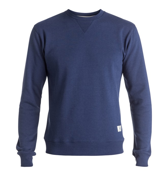 0 Rebel - Sweatshirt Blue EDYFT03099 DC Shoes
