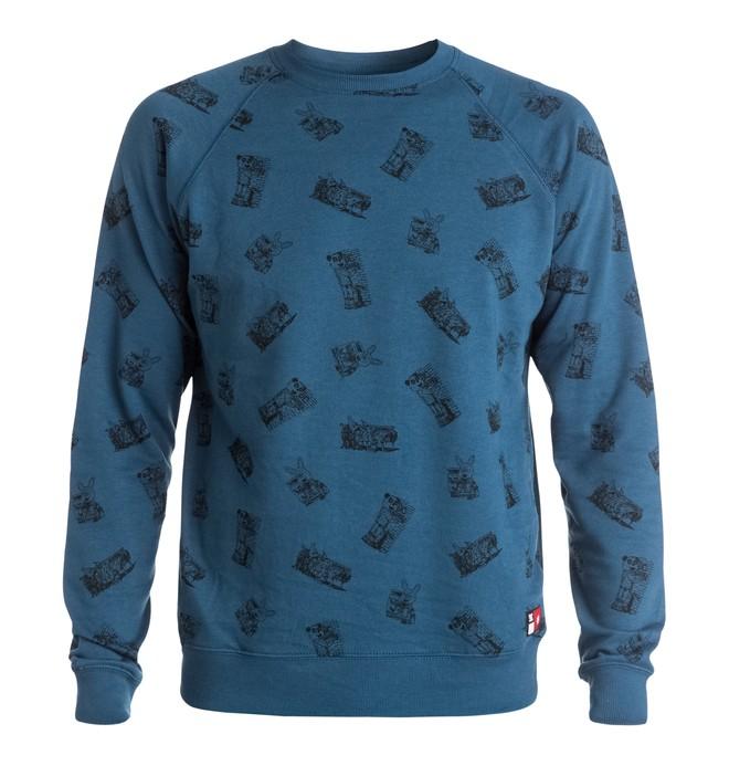 0 Men's Core Raglan Sweatshirt  EDYFT03113 DC Shoes