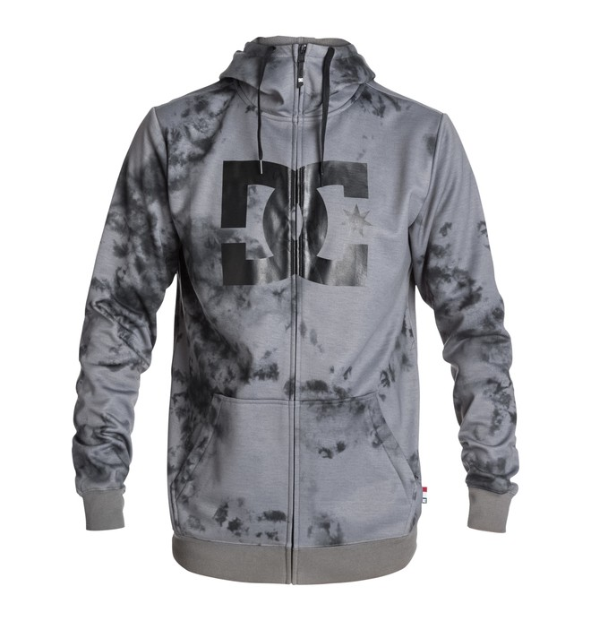 0 Men's Snowstar Zip-Up Hoodie  EDYFT03125 DC Shoes