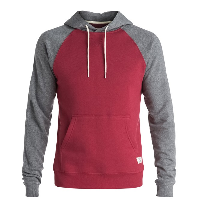 0 Rebel Raglan - Hoodie Red EDYFT03165 DC Shoes