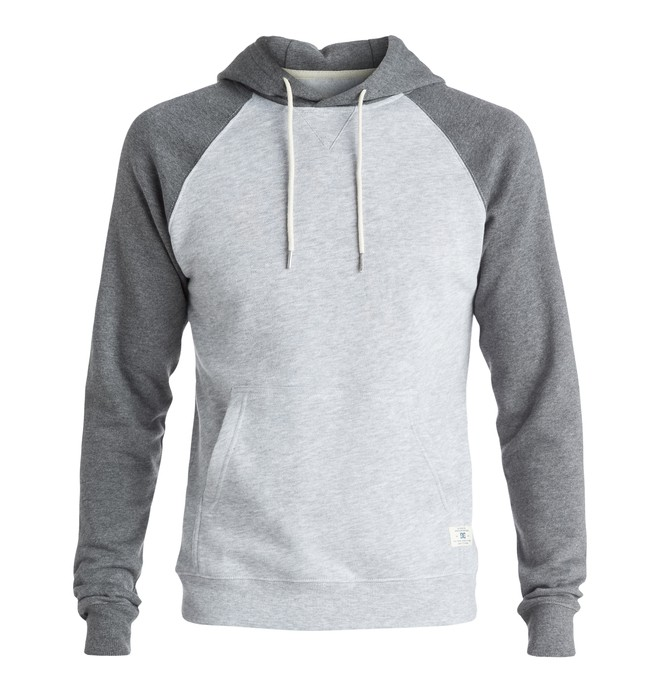 0 Rebel Raglan - Hoodie Grey EDYFT03165 DC Shoes