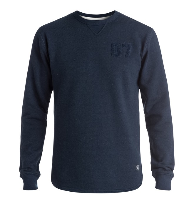 0 Woodend - Sweatshirt Blue EDYFT03211 DC Shoes