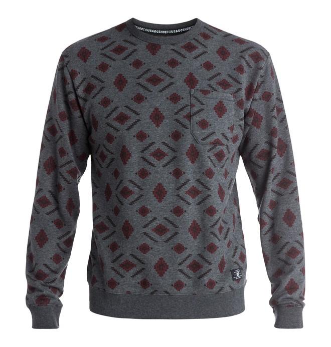 0 Wesler - Sweatshirt Black EDYFT03247 DC Shoes