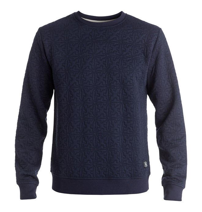 0 Edmondson - Sweatshirt Blue EDYFT03255 DC Shoes