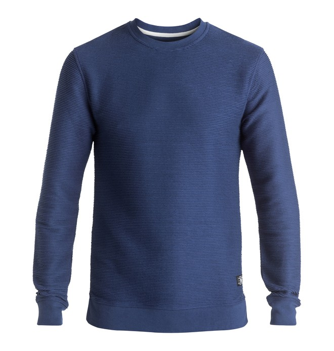 0 Stanwood - Sweatshirt Blue EDYFT03256 DC Shoes