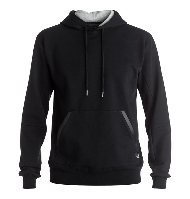 0 Roxden - Technical Hoodie Black EDYFT03259 DC Shoes