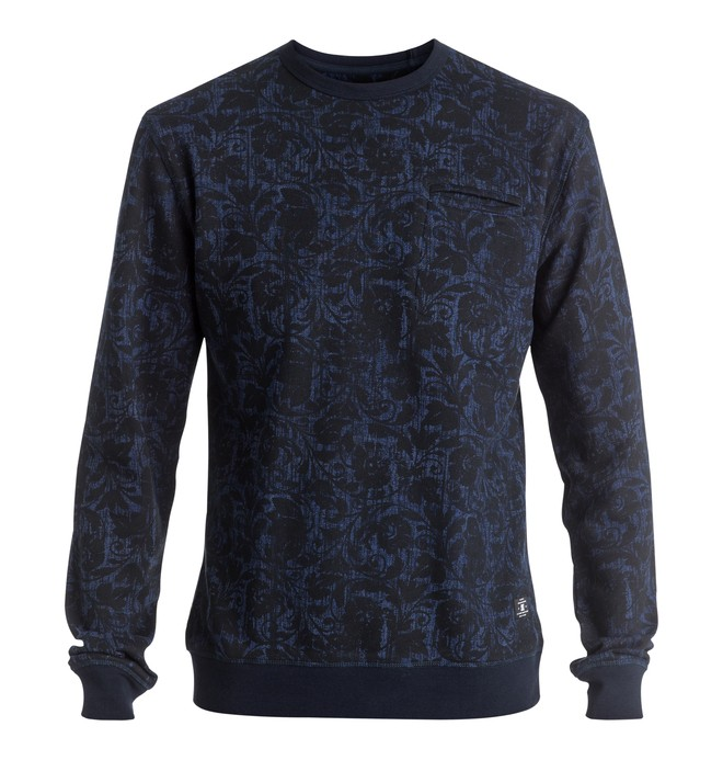 0 Lenox - Sweatshirt Blue EDYFT03268 DC Shoes
