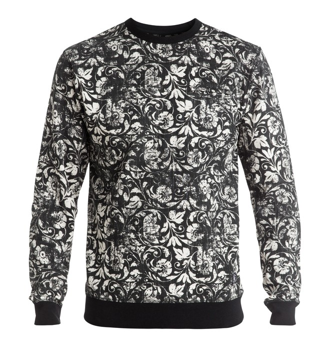 0 Lenox - Sweatshirt Black EDYFT03268 DC Shoes