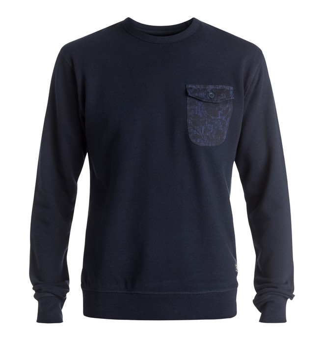 0 Sykes - Sweatshirt Blue EDYFT03269 DC Shoes