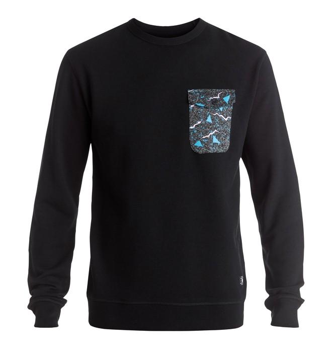 0 Sykes - Sweatshirt Black EDYFT03269 DC Shoes