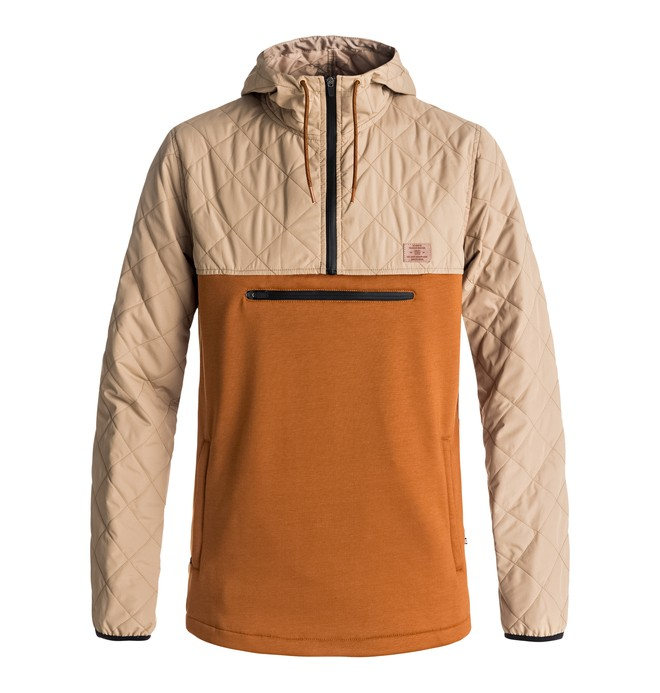 0 Barricade - Technical Mid Layer Brown EDYFT03284 DC Shoes