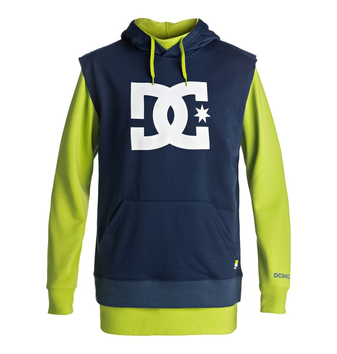 0 Dryden - Technical Hoodie Green EDYFT03286 DC Shoes