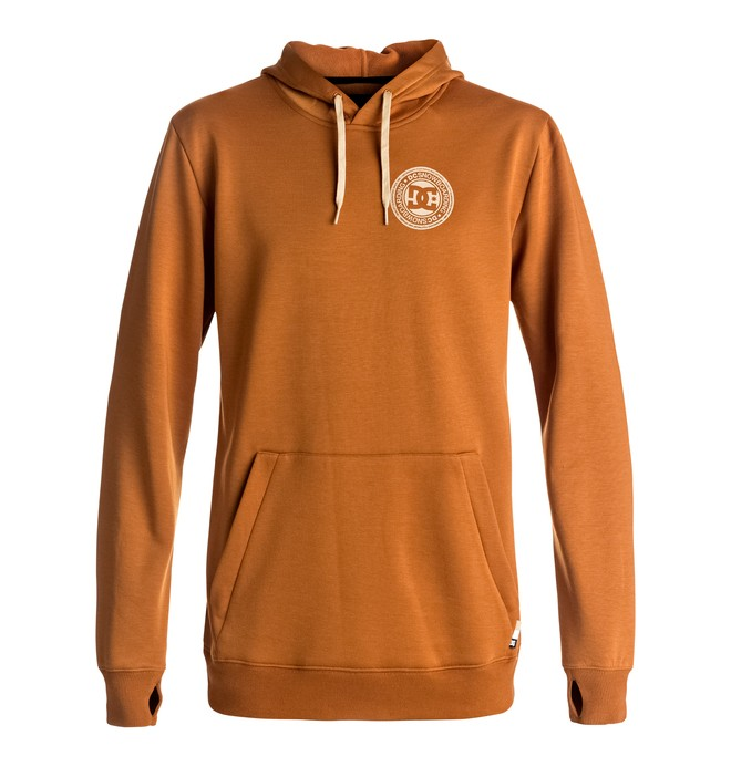 0 Snowstar - Technical Riding Hoodie Brown EDYFT03288 DC Shoes