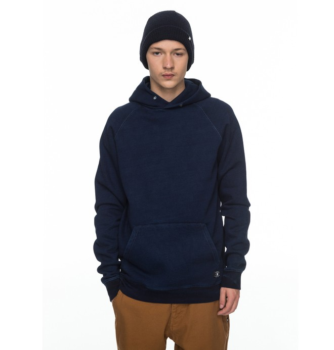 0 Wilsonian - Sweat à capuche Bleu EDYFT03300 DC Shoes