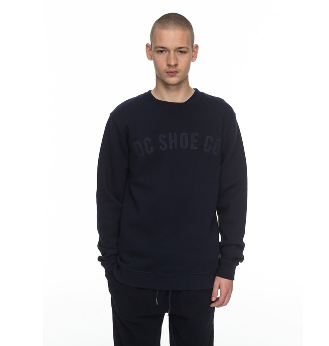 0 Ellis - Sweat Bleu EDYFT03306 DC Shoes