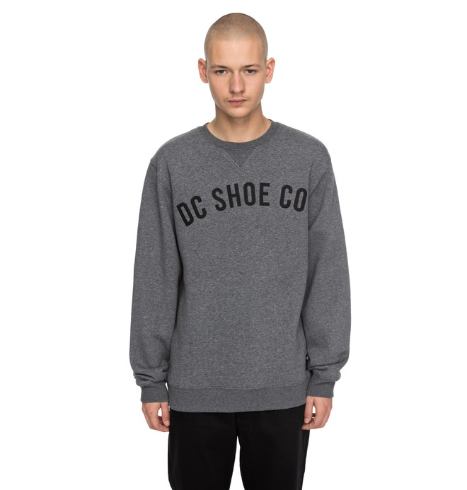 0 Men's Ellis Sweatshirt Black EDYFT03306 DC Shoes