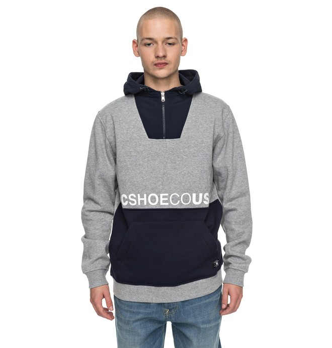 0 Longden - Sweat à capuche à demi-zip Noir EDYFT03313 DC Shoes