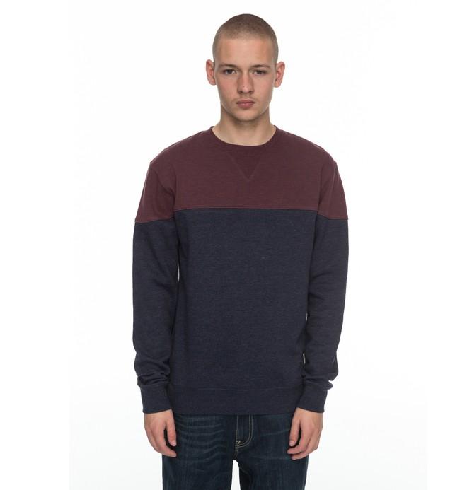 0 Rebel Block - Sweatshirt Blau EDYFT03315 DC Shoes