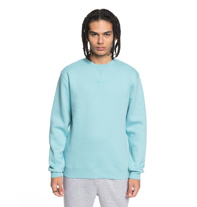 0 Men's Craigburn Sweatshirt Blue EDYFT03347 DC Shoes