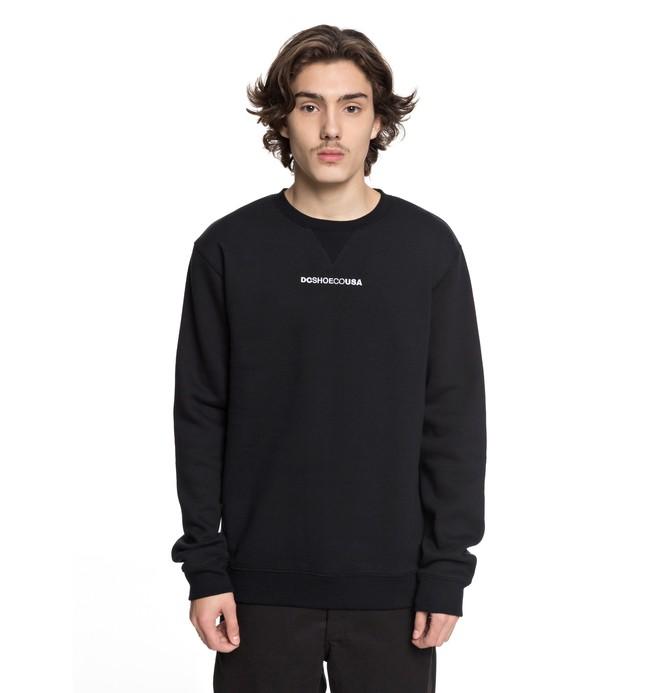0 Men's Craigburn Sweatshirt Black EDYFT03347 DC Shoes