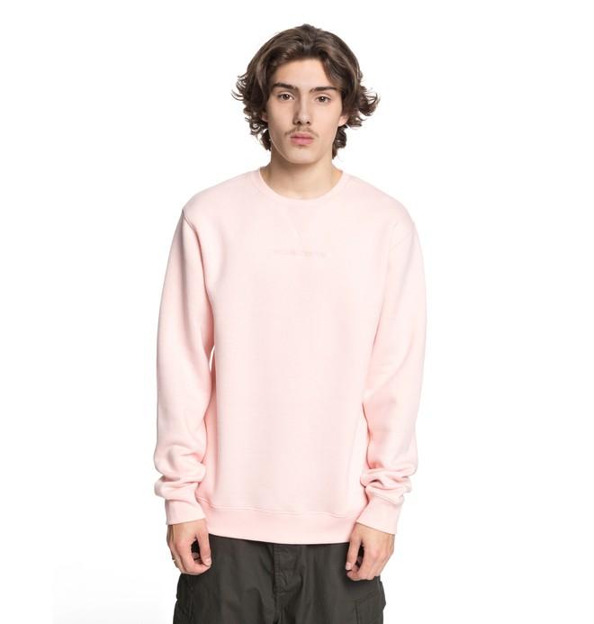 0 Men's Craigburn Sweatshirt Pink EDYFT03347 DC Shoes