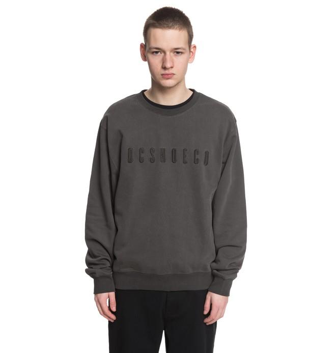 0 Men's Sharow Sweatshirt Black EDYFT03349 DC Shoes