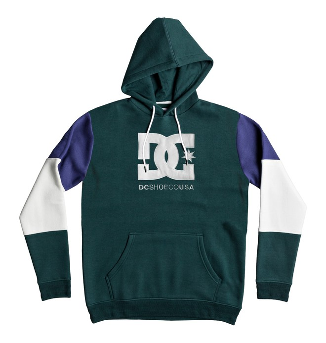 0 Men's Doney Hoodie Green EDYFT03352 DC Shoes
