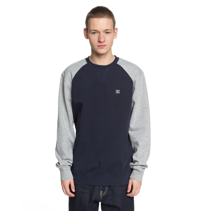 0 Men's Glenties Sweatshirt Blue EDYFT03358 DC Shoes