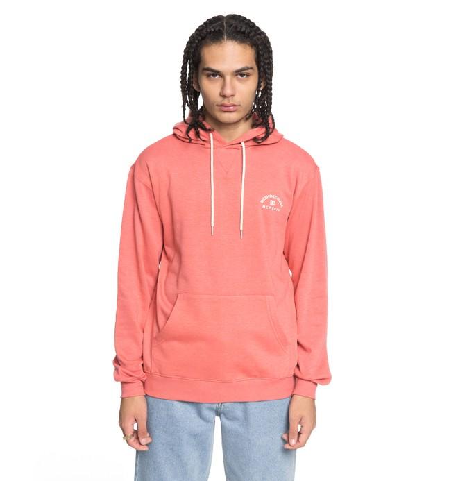 0 Men's Rebel 3 Hoodie Pink EDYFT03360 DC Shoes