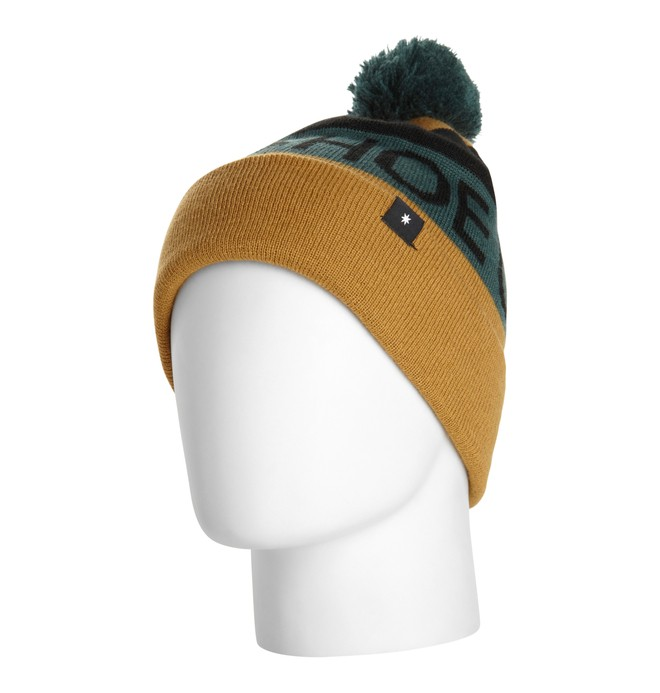 0 Men's Chester 15 Beanie Brown EDYHA00012 DC Shoes