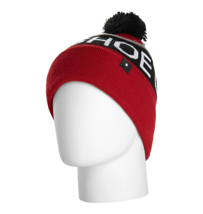 0 Men's Chester 15 Beanie Red EDYHA00012 DC Shoes