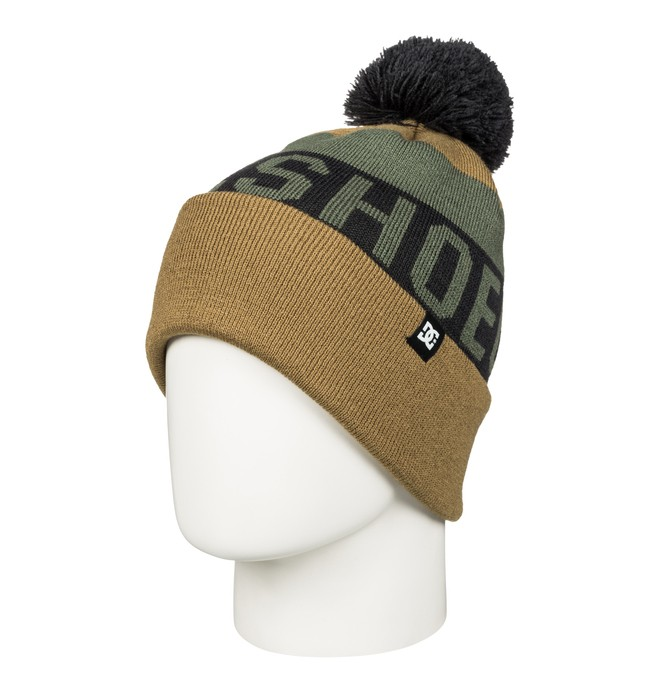 0 Chester - Bobble Hat Brown EDYHA03036 DC Shoes