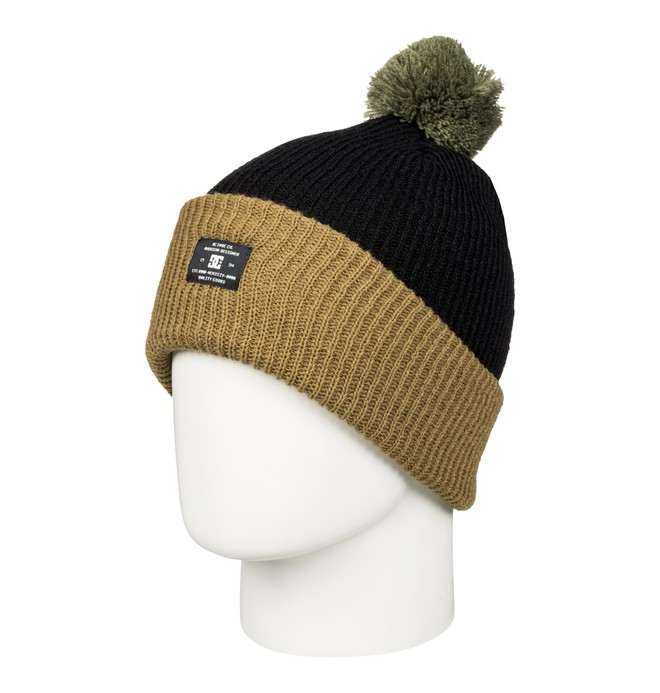 0 Trilogy - Bobble Hat Brown EDYHA03043 DC Shoes